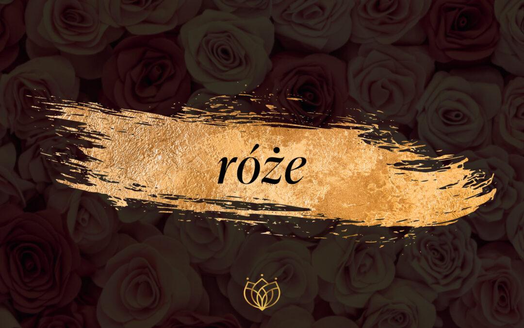 Róże w perfumach