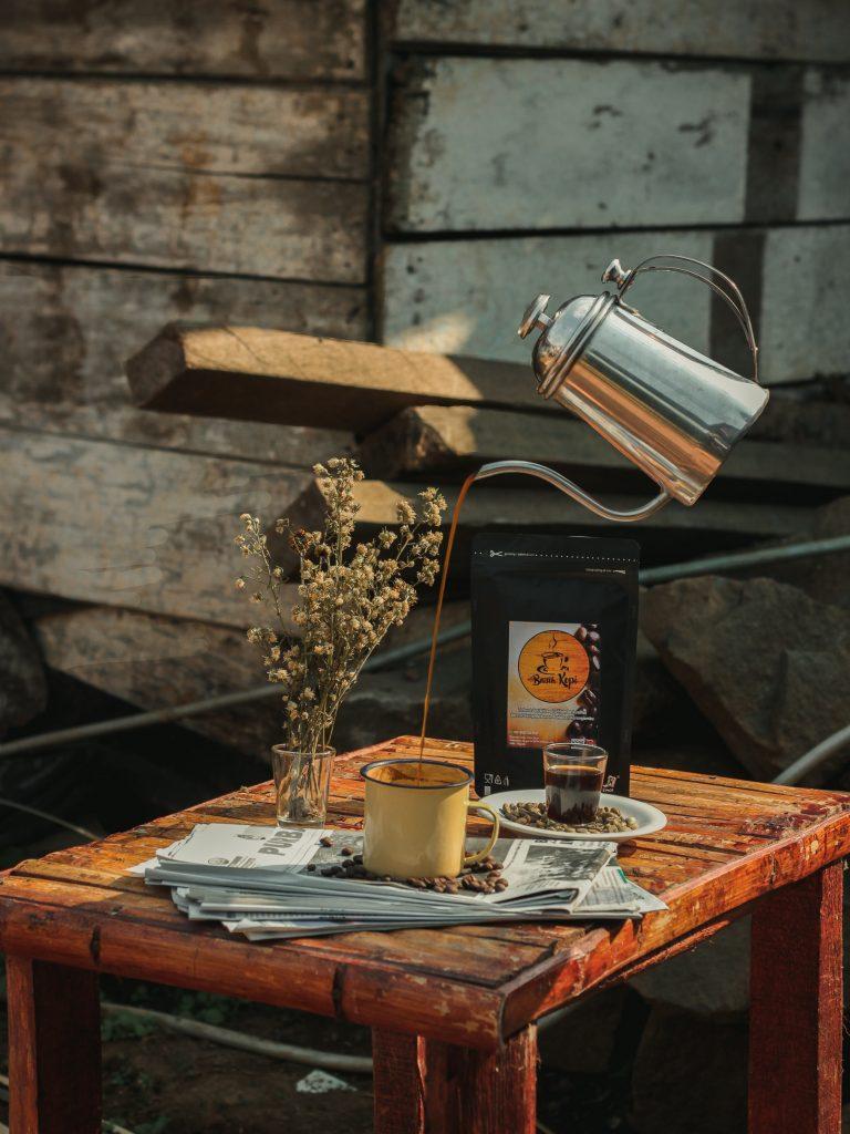 Oryginalne perfumy z kawą